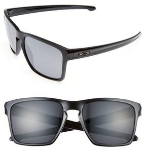 Oakley Men's Silver Xl 57Mm Sunglasses - Black