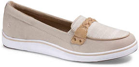Grasshoppers Women's Windham Striped Boat Shoe