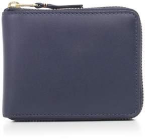 Comme des Garcons Color-plain Zip Around Wallet