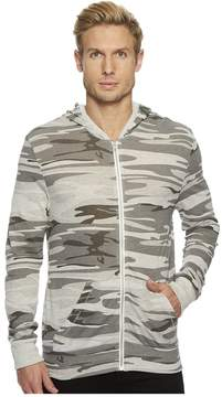 Alternative Eco Zip Hoodie Men's Sweatshirt