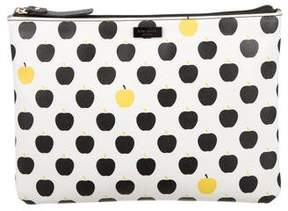 Kate Spade New York Leather Cosmetic Pouch