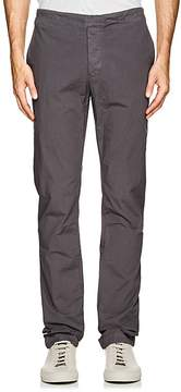 James Perse MEN'S STRETCH-COTTON POPLIN SLIM PANTS