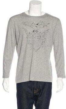 Dries Van Noten Eagle Print T-Shirt w/ Tags