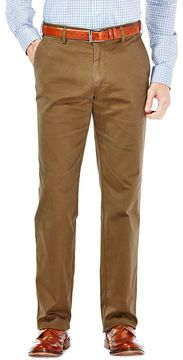 Haggar Men's Performance Cotton Slacks: Straight-Fit Comfort Flex Waist Pants