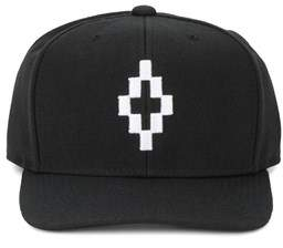 Marcelo Burlon County of Milan Men's Black Acrylic Hat.