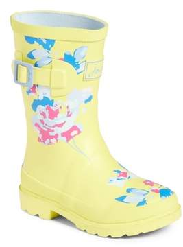 Joules Mid Height Print Welly Rain Boot