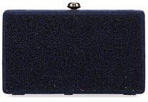 Neiman Marcus Crystal Box Clutch Bag