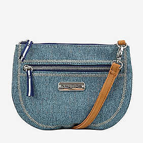 Sea City Denim Crossbody