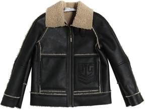 John Galliano Faux Shearling Jacket