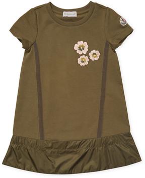 Moncler Crewneck Cotton Dress