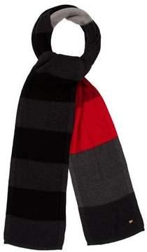 Sonia Rykiel Wool Colorblock Scarf