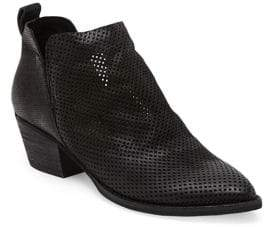 Dolce Vita Sony Perforated Nubuck Booties