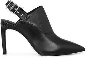 AllSaints Women's Jen Leather Slingback High Heel Mules