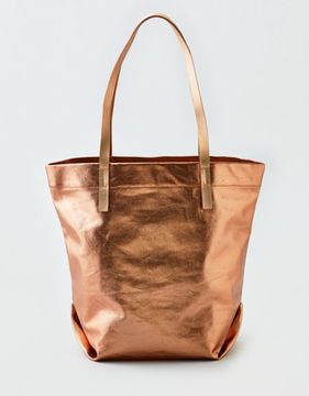 American Eagle Outfitters AE Metallic Canvas Tote
