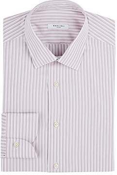 Boglioli Men's Striped Cotton Dress Shirt