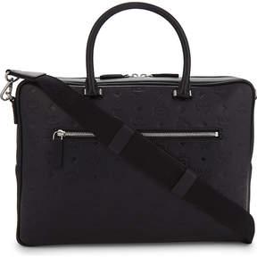 MCM Otto medium monogram leather briefcase