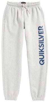 Quiksilver Boy's Logo Track Pants