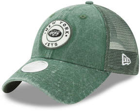 New Era Women's New York Jets Perfect Patch 9TWENTY Snapback Cap