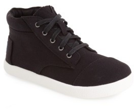 Toms Boy's 'Paseo' High Top Sneaker