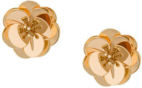 Eddie Borgo large flower earrings
