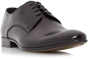 Dune London REMBRANDT - BLACK Plain Toe Derby Shoe
