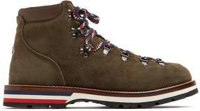 Moncler Peak suede ankle boots