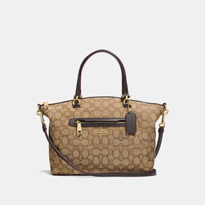 COACH Coach Prairie Satchel - LIGHT GOLD/KHAKI - STYLE