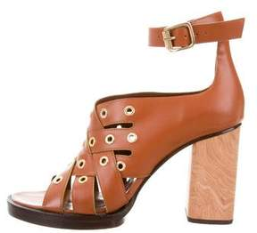 Opening Ceremony Grommet Crossover Sandals