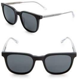 Bottega Veneta Tinted 51MM Rectangle Sunglasses