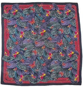 One Kings Lane Vintage Bottega Veneta Butterfly Scarf - The Emporium Ltd.