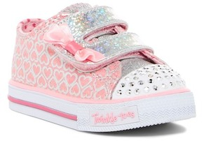 Skechers Shuffles Glitter Pop Sneaker (Toddler & Little Kid)