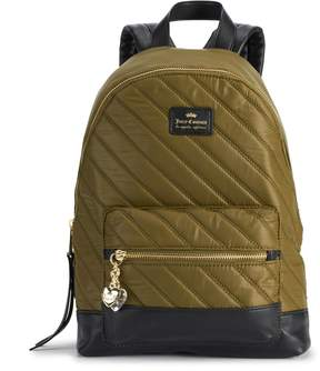 Juicy Couture Between the Lines Quilted Backpack