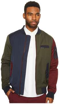 Members Only Color Block Bomber Jacket Men's Coat