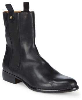 Corso Como Classic Leather Ankle Boots