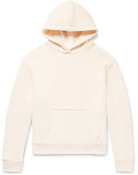 Simon Miller Mazunte Loopback Cotton-Jersey Hoodie
