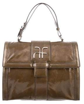 Alberta Ferretti Patent Leather Handbag