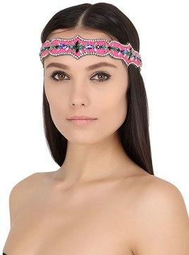 Path Of Colors Beaded Headband
