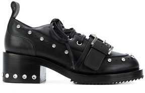 No.21 studded platform lace-up shoes