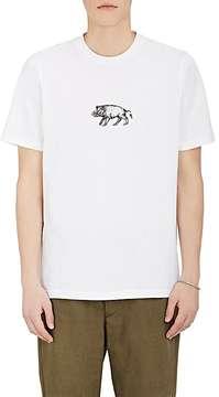 Oamc Men's Graphic-Print Cotton T-Shirt