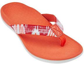 Vionic Orthotic Thong Sandals - Tide Sequins