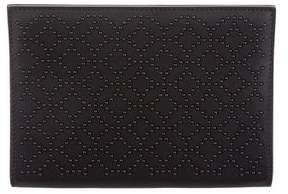 Alaia Embellished Leather Clutch w/ Tags