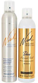 Nick Chavez ThirstQuencher Hairspray & Diva Shine Spray Duo