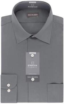 Van Heusen Lux Sateen Big and Tall Stretch Long Sleeve Dress Shirt