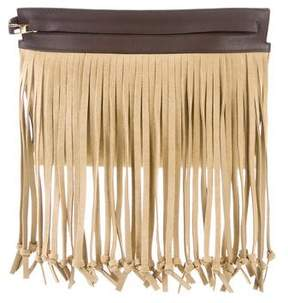 Loewe T Pouch Fringes Bag w/ Tags
