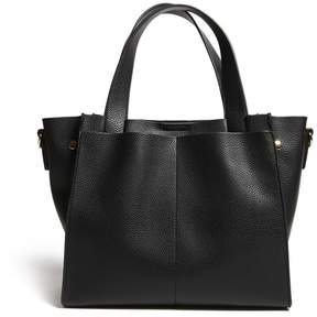 Forever 21 Faux Leather Crossbody Tote