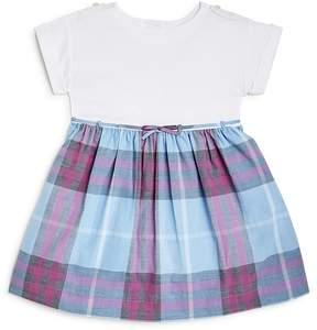 Burberry Girls' Mini Rosey Check Skirt Dress - Baby