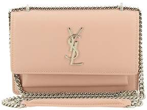 Saint Laurent Sunset Monogramme Shoulder Bag - PALE PINK - STYLE