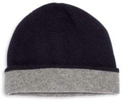 Saks Fifth Avenue COLLECTION Cashmere Reversible Beanie