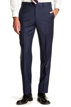 Brooks Brothers Plaid Print Flat Front Regent Fit Pants - 30-34\ Inseam