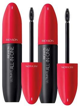 Revlon Ultimate All-in-One Mascara Value Pack Blackest Black 0.56 oz